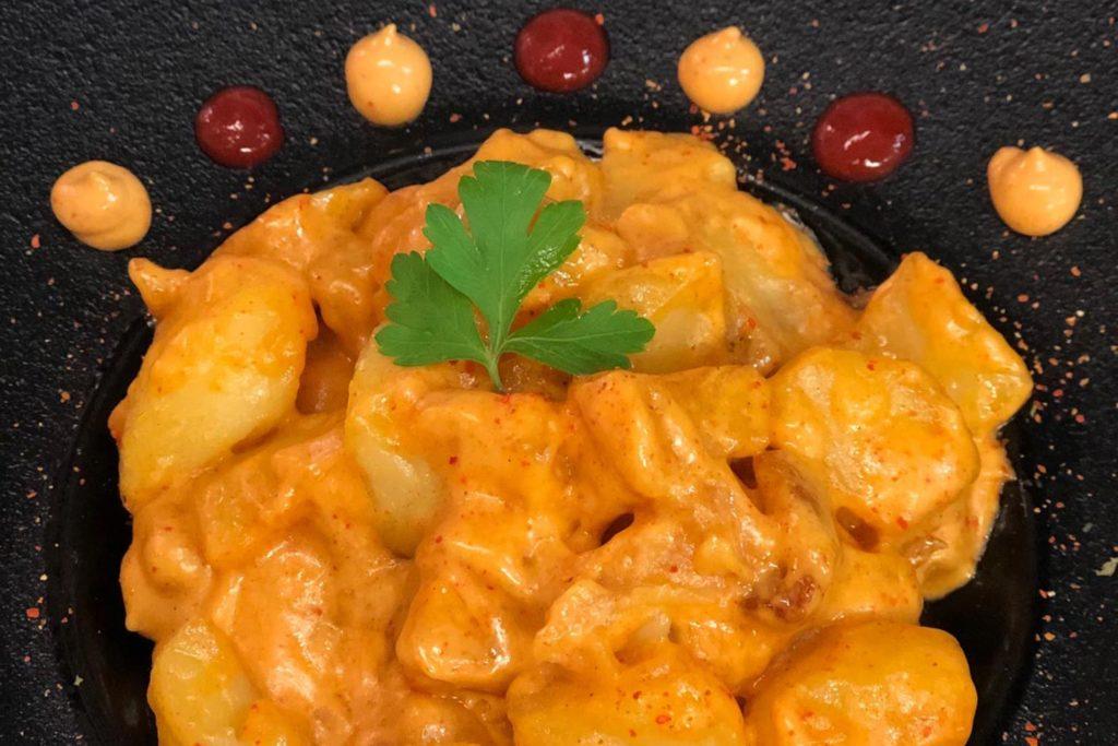 Comida para llevar en León: patatas mercado