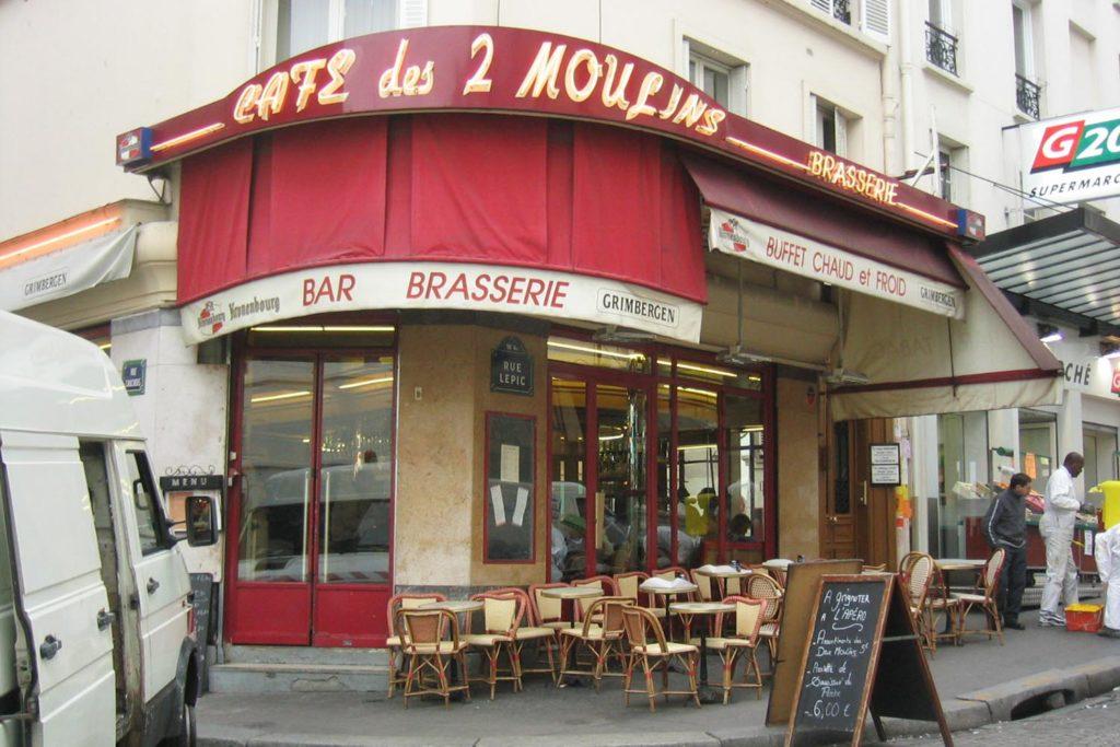 Restaurantes de pelicula: Bar Brasserie (Amelie)