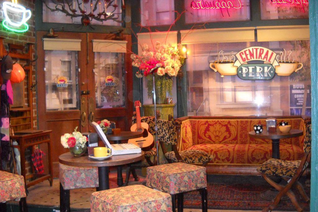 Restaurantes de pelicula: Central Perk (Friends)