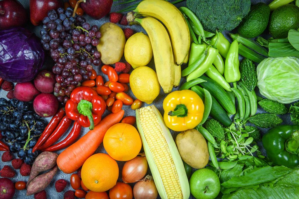 Dieta a base de alimentos crudos