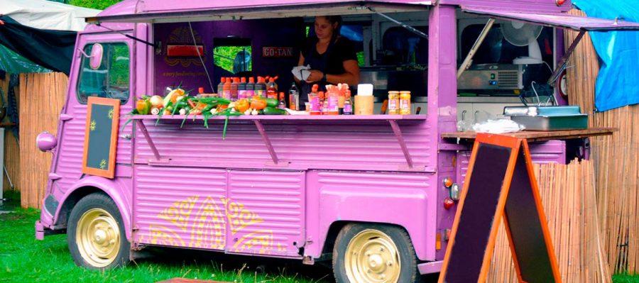 ¿Cuál es la historia del food truck?