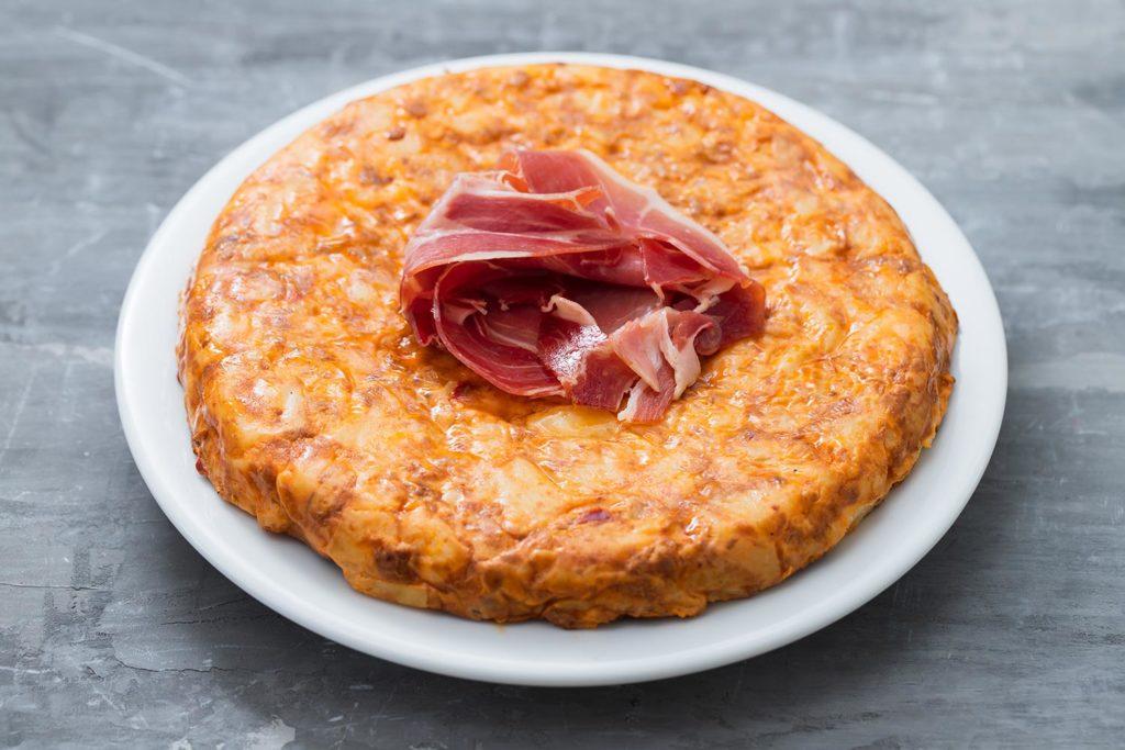 Comida típica española: tortilla de patatas