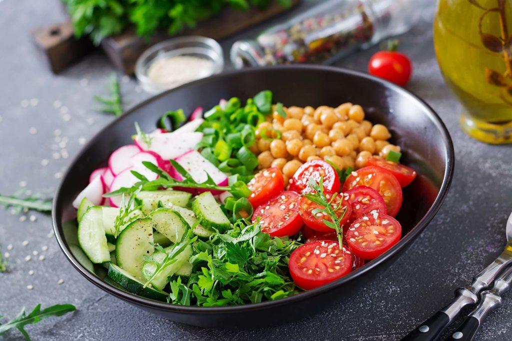 Restaurante Mercado: comida vegetariana